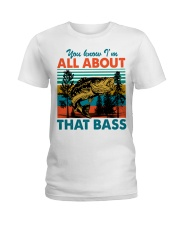 Im All About That Bass Ladies T-Shirt thumbnail