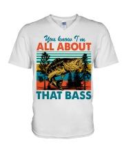 Im All About That Bass V-Neck T-Shirt thumbnail