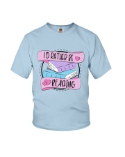 I'd rather be reading Youth T-Shirt thumbnail