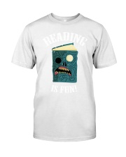 Reading is Fun Classic T-Shirt tile