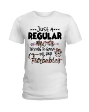 Just A Regular Mom Trying To Raise Ladies T-Shirt thumbnail