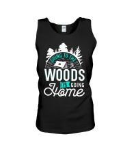 Going to the woods is going home Unisex Tank thumbnail