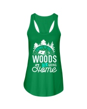 Going to the woods is going home Ladies Flowy Tank thumbnail