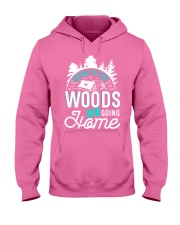 Going to the woods is going home Hooded Sweatshirt thumbnail