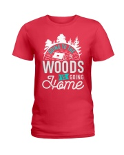 Going to the woods is going home Ladies T-Shirt thumbnail