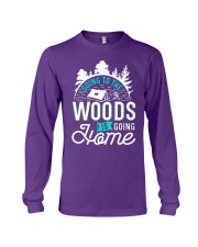 Going to the woods is going home Long Sleeve Tee thumbnail