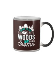 Going to the woods is going home Color Changing Mug thumbnail