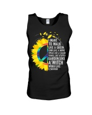 I want to walk like a queen Unisex Tank thumbnail