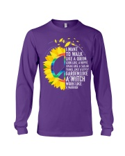 I want to walk like a queen Long Sleeve Tee thumbnail