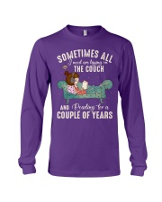 Sometimes all I need are laying on the couch Long Sleeve Tee thumbnail