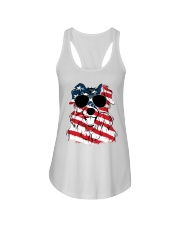 Cute Australian Shepherd Ladies Flowy Tank thumbnail
