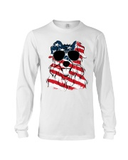 Cute Australian Shepherd Long Sleeve Tee thumbnail