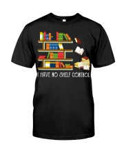 I Have No Shelf Control Premium Fit Mens Tee thumbnail