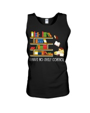 I Have No Shelf Control Unisex Tank thumbnail