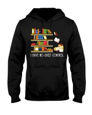 I Have No Shelf Control Hooded Sweatshirt thumbnail