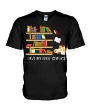 I Have No Shelf Control V-Neck T-Shirt thumbnail