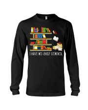 I Have No Shelf Control Long Sleeve Tee thumbnail