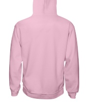 Born to be a stay at home cat mom Hooded Sweatshirt back