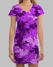 Alzheimer Awareness Camo All-over Dress aos-dress-front-lifestyle-3