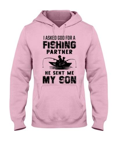 I asked god for a fishing partner