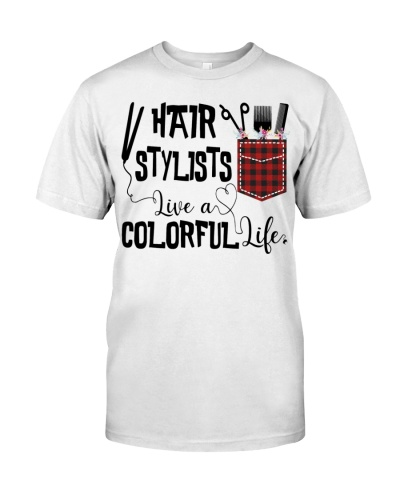 Hair stylists live a colorful life