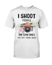 I Shoot People Photograph Lover Classic T-Shirt front