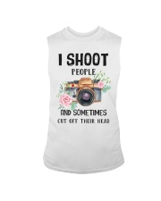 I Shoot People Photograph Lover Sleeveless Tee thumbnail
