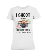 I Shoot People Photograph Lover Premium Fit Ladies Tee thumbnail