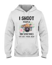 I Shoot People Photograph Lover Hooded Sweatshirt thumbnail