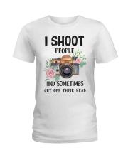 I Shoot People Photograph Lover Ladies T-Shirt thumbnail