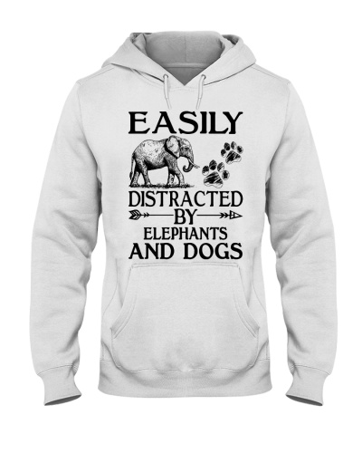 Easily distracted by elephants and dogs