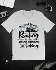 Weekend forecast Reading Classic T-Shirt lifestyle-mens-crewneck-front-16