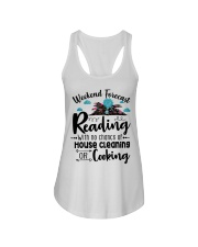 Weekend forecast Reading Ladies Flowy Tank thumbnail