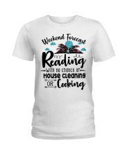 Weekend forecast Reading Ladies T-Shirt thumbnail