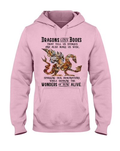 Dragons love books wonders of being alive