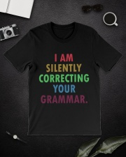Silently Correcting Your Grammar Classic T-Shirt lifestyle-mens-crewneck-front-16
