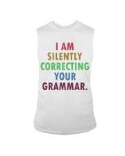 Silently Correcting Your Grammar Sleeveless Tee thumbnail