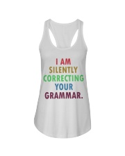 Silently Correcting Your Grammar Ladies Flowy Tank thumbnail