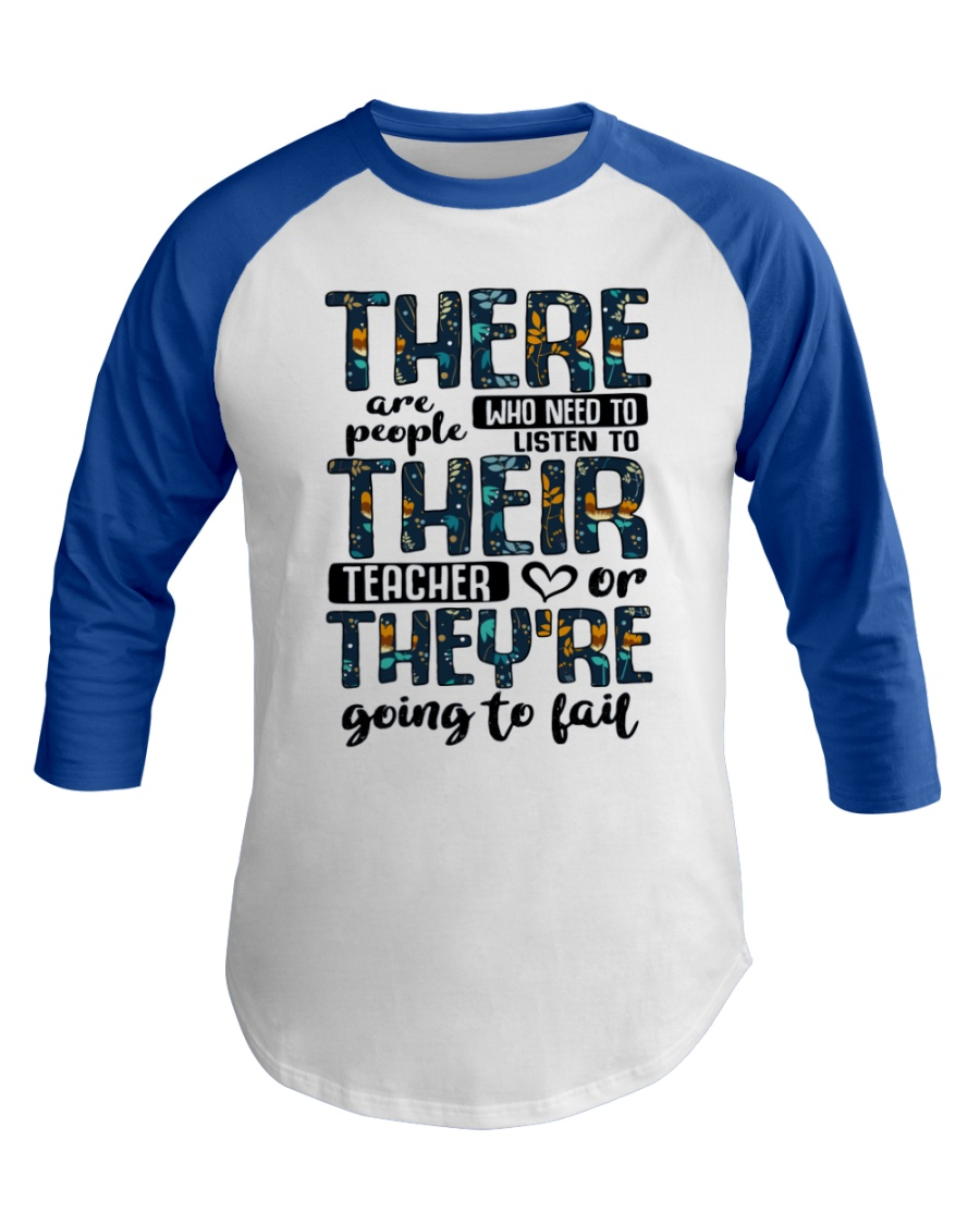 There Are People Who Need Baseball Tee