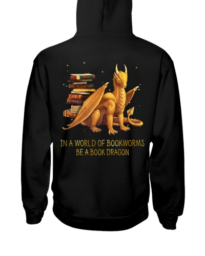 In a world of bookworms be a book dragon