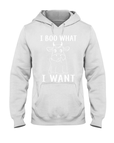 I Boo What I Want Cow