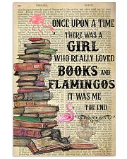 Books Flamingos Once Upon A Time Vertical Poster 11x17 Poster front