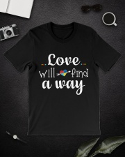 Love Will Find A Way Autism Classic T-Shirt lifestyle-mens-crewneck-front-16