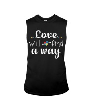 Love Will Find A Way Autism Sleeveless Tee thumbnail