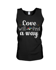 Love Will Find A Way Autism Unisex Tank thumbnail