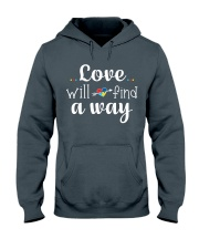 Love Will Find A Way Autism Hooded Sweatshirt thumbnail