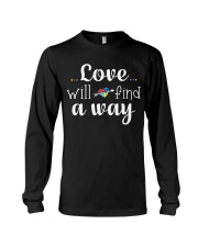 Love Will Find A Way Autism Long Sleeve Tee thumbnail