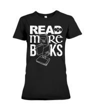 Read More Books Premium Fit Ladies Tee thumbnail