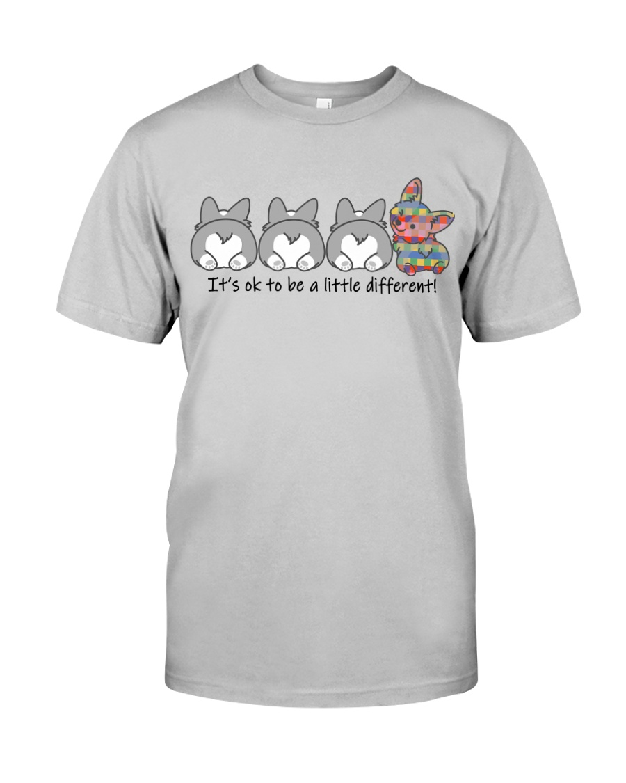 A Little Different Corgi Classic T-Shirt