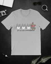 A Little Different Corgi Classic T-Shirt lifestyle-mens-crewneck-front-16